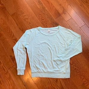 Aritzia TNA Mint green Long Sleeve T-Shirt